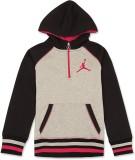 Jordan Kids Full Sleeve Solid Girls Swea...