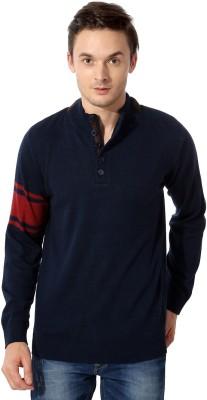 Van Heusen Full Sleeve Solid Men,s Sweatshirt