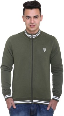 Trufit Full Sleeve Solid Men's Sweatshirt