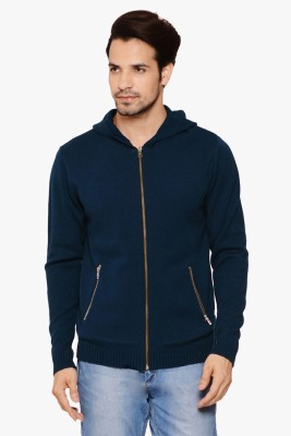 Northern Lights Full Sleeve Solid Men's Sweatshirt
