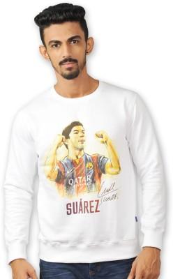 FC Barcelona Full Sleeve Printed Men's Sweatshirt