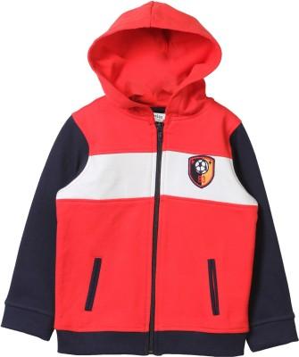 Beebay Full Sleeve Embroidered Boy's Sweatshirt