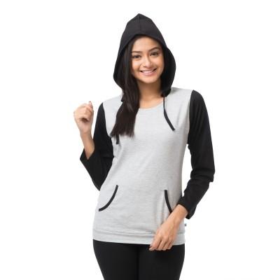 Nite Flite Full Sleeve Solid Women's Sweatshirt
