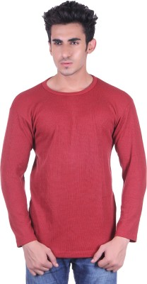 Lluminati Full Sleeve Solid Men's Sweatshirt