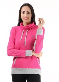 Only Full Sleeve Solid Women's Reversible Sweatshirt