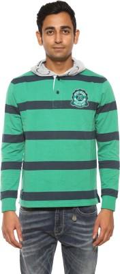 Pepe Full Sleeve Striped Men's Sweatshirt