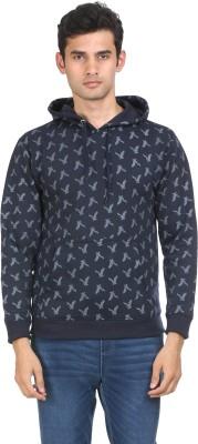 HILL FOX Full Sleeve Floral Print Men's Sweatshirt