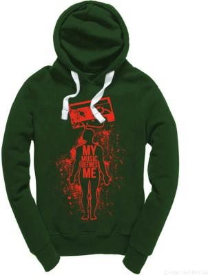 Wear Your Opinion Full Sleeve Graphic Print Men's Sweatshirt