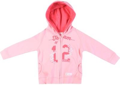 FS Mini Klub Full Sleeve Solid Girl's Sweatshirt