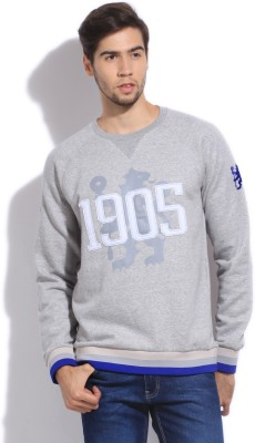 Adidas Full Sleeve Printed Men's Sweatshirt