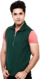 Casual Tees Sleeveless Solid Men's Sweat...
