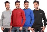 Martech Full Sleeve Solid Men's Sweatshi...