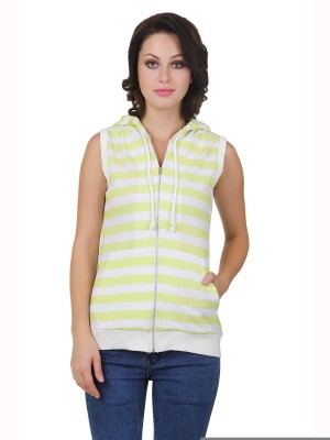 Cherymoya Sleeveless Striped Women's Sweatshirt