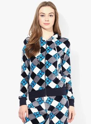Tshirt Company Full Sleeve Checkered Women's Sweatshirt