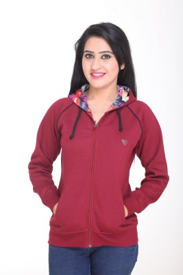 Kantham Full Sleeve Solid Women's Sweatshirt