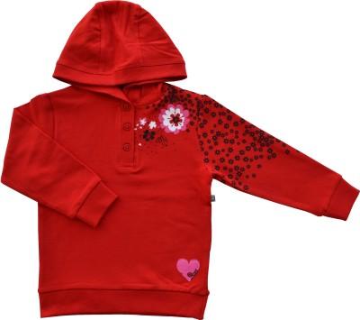 Babeez World Full Sleeve Solid Girl's Sweatshirt