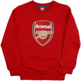 Puma Full Sleeve Printed Boys Sweatshirt
