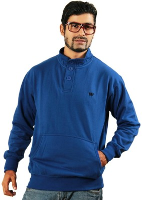 Printing Geeks Full Sleeve Solid Men's Sweatshirt