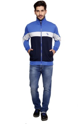 skora Full Sleeve Striped Men,s Sweatshirt