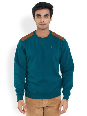 Parx Full Sleeve Solid Men's Sweatshirt
