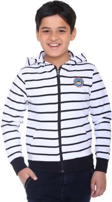 Kids-17 Full Sleeve Striped Boy's Sweatshirt