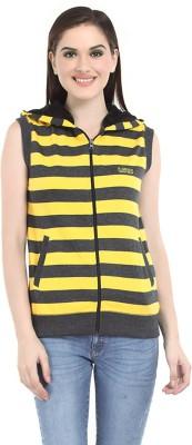 Her Grace Sleeveless Striped Women's Sweatshirt