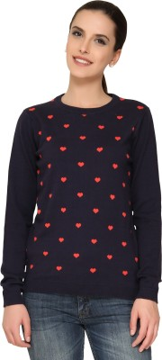 Alibi By Inmark Full Sleeve Printed Women's Sweatshirt