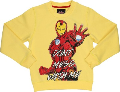 Avenger Full Sleeve Printed Boy's Sweatshirt