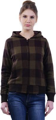 Merch21 Full Sleeve Checkered Women's Sweatshirt