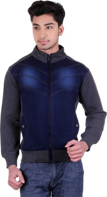 Absurd Full Sleeve Solid Men's Sweatshirt