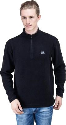 T10 Sports Full Sleeve Solid Men's Reversible Sweatshirt