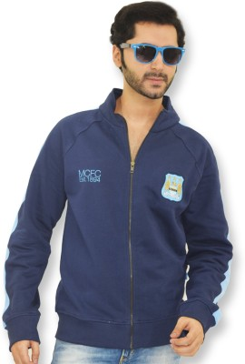 Manchester City FC Full Sleeve Solid Men,s Sweatshirt