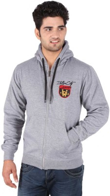 Illicit Nation Full Sleeve Solid Men's Sweatshirt