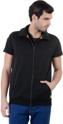 Enquotism Sleeveless Solid Men's Sweatshirt