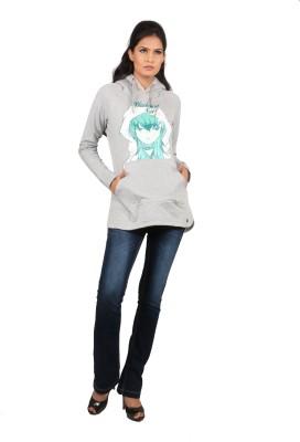 Black Soul Full Sleeve Solid Women's Sweatshirt