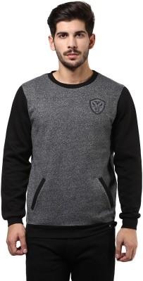 The Vanca Full Sleeve Solid Men's Reversible Sweatshirt