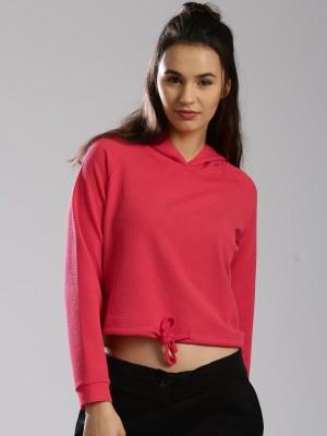 HRX by Hrithik Roshan Full Sleeve Self Design Womens Sweatshirt