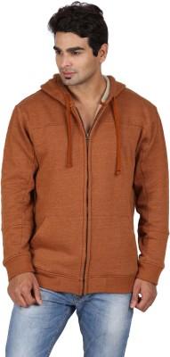 GOFLAUNT Full Sleeve Solid Men's Sweatshirt
