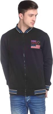 CLUB YORK Full Sleeve Embroidered Men's Sweatshirt