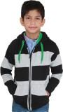 Shaun Full Sleeve Striped Boys Sweatshir...