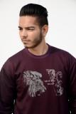 Hookard Full Sleeve Printed Men's Sweats...