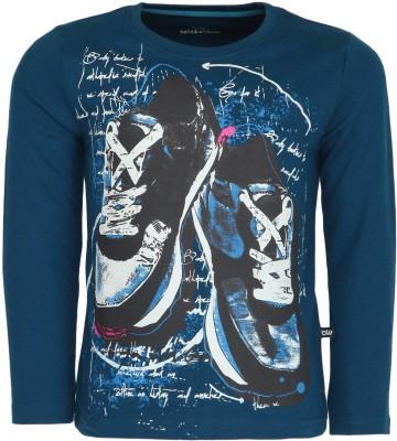Bells and Whistles Full Sleeve Printed Boy's Sweatshirt