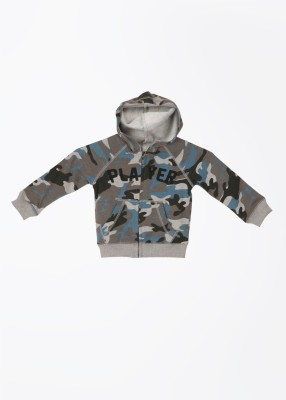 United Colors of Benetton Full Sleeve Printed Boy's Sweatshirt