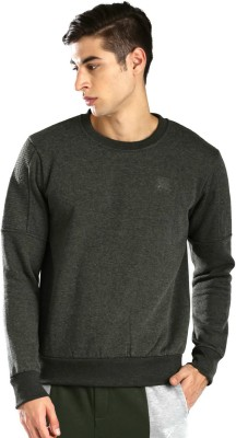 HRX by Hrithik Roshan Full Sleeve Solid Men's Sweatshirt at flipkart