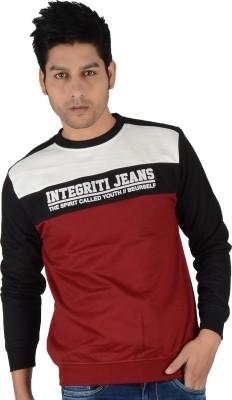 Integriti Full Sleeve Printed Men's Sweatshirt