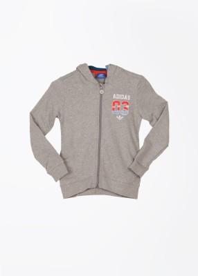 Adidas Full Sleeve Solid Boy's Sweatshirt