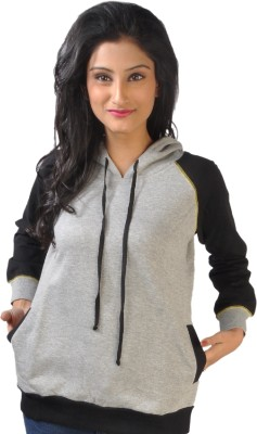 No code Full Sleeve Solid Women's Sweatshirt