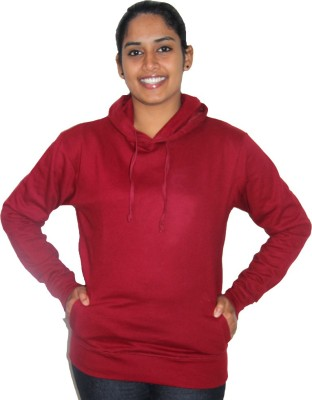 Zorba Mart Full Sleeve Solid Women's Sweatshirt