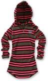 Nike Kids Full Sleeve Striped Girls Swea...
