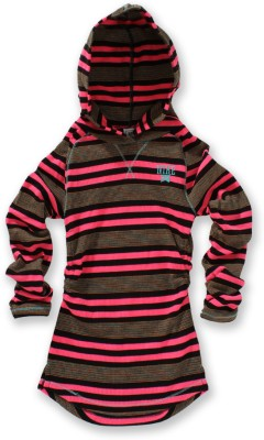 Nike Full Sleeve Striped Girl's Sweatshirt